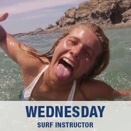 Surf Instructor Wednesday
